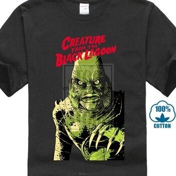 Creature From The Black Lagoon V2 película blanca Natural camiseta todas las tallas S 4Xl