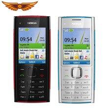 X2 original nokia X2-00 bluetooth fm java 5mp desbloqueado celular venda quente na polônia frete grátis