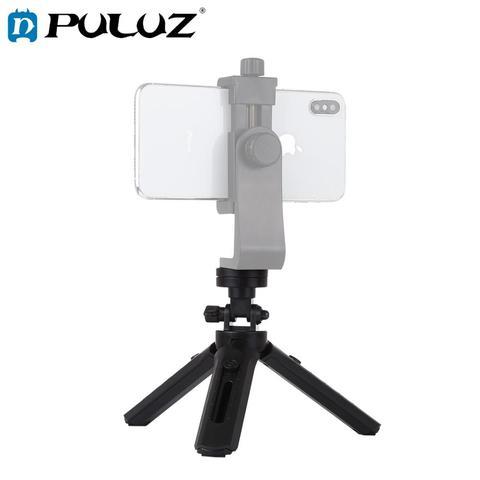 PULUZ Pocket 5-mode Adjustable Desktop Tripod Mount with 1/4 inch Screw for DSLR & Digital Cameras, Adjustable Height: 23-28cm Pakistan