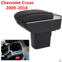 New product 7USB+Lift+Slide+LED central Store armrest box content box with cup holder ashtray For Chevrolet Cruze