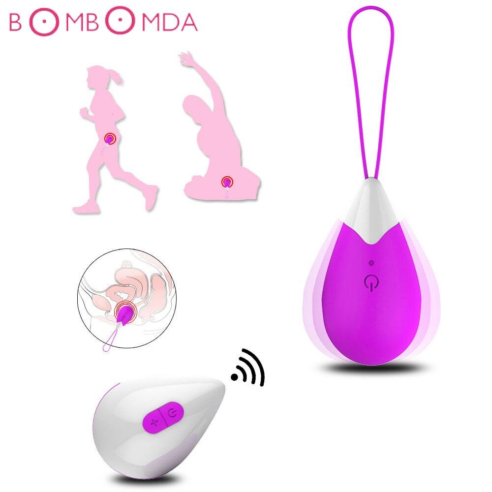 Vibrateurs d'oeufs de saut à plusieurs vitesses femme Masturbation télécommande vagin balles sexe féminin masturbateur Clitoris stimulateur