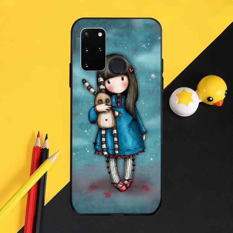 PENGHUWAN Santoro Gorjuss özel fotoğraf yumuşak telefon kılıfı için Samsung S20 artı Ultra S6 S7 kenar S8 S9 artı S10 5G
