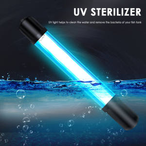 Waterproof Submersible UV Light Sterilizer for Swimming Pool Algae Light Fishing Light for Aquarium Fish Tank 5791113 W