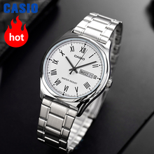 Casio watch  스포츠 시계 밀리터리 방수 레트로 시계 남자 시계 브랜드 고급 고급 쿼츠 시계 часы мужские relogio masculino reloj hombre erkek kol saati montre homme zegarek meski MTP V006