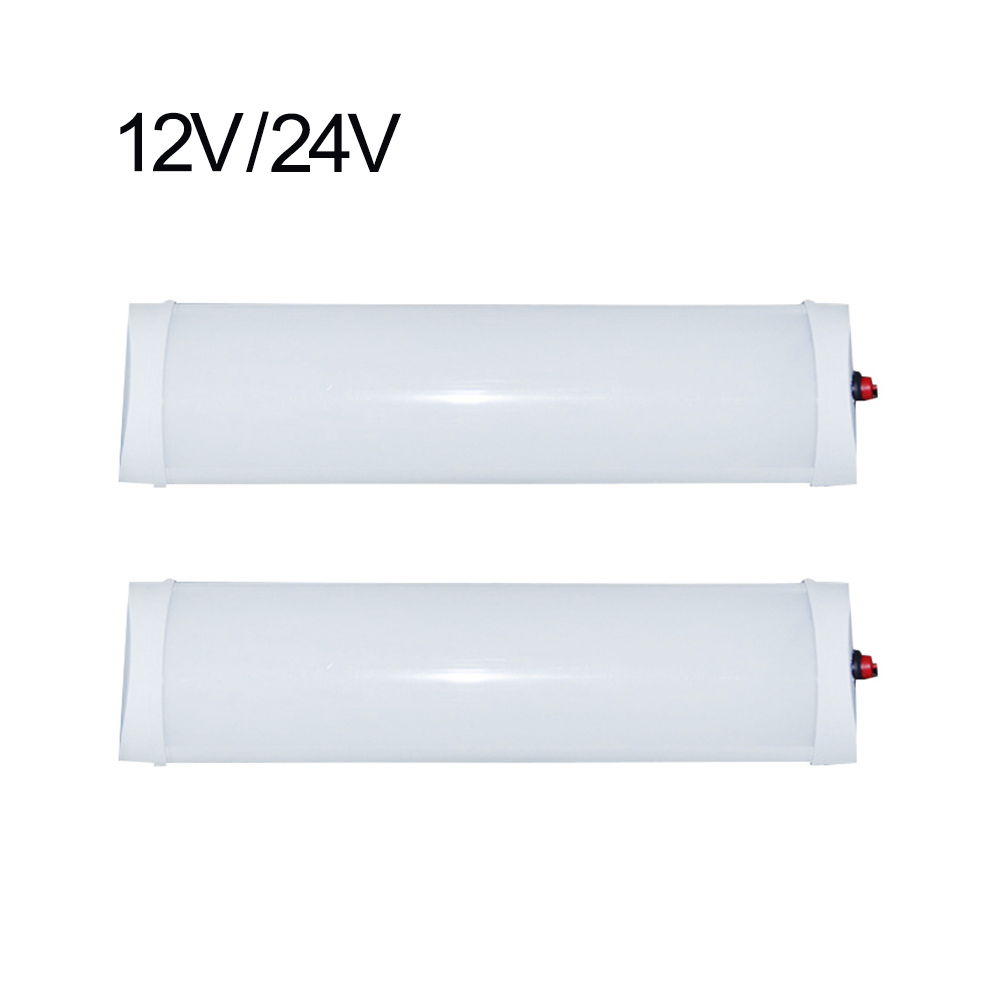 Car Interior Led Light Bar White Light Tube With Switch For Van Lorry Truck RV For Camper Boat Indoor Ceiling Light