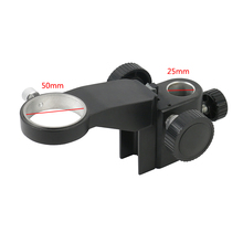 50mm średnica regulowany mikroskop stereo stojak uchwyt przegubowy wspornik ramienia akcesoria do mikroskopu