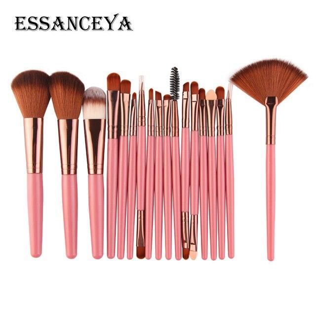 ESSANCEYA 10/15/18Pcs Makeup Brushes Set Powder Foundation Eyeshadow Blending Brush Cosmetics Makeup Beauty Tools Maquiagem Kits 1