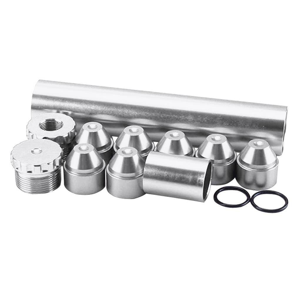 11 шт./комплект, алюминиевый топливный фильтр для NAPA 5/8 WIX 4003, 24003 дюйма-24 дюйма