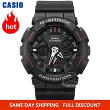 Đồng hồ đeo tay nam Casio G SHOCK Thương hiệu hàng đầu sang trọng Bộ 200m không thấm nước Đồng hồ thạch anh LED Đồng hồ kỹ thuật số G Shock quân đội Đồng hồ nam chủ đề của xe máy thể thao Đồng hồ lặn Đồng hồ đeo tay