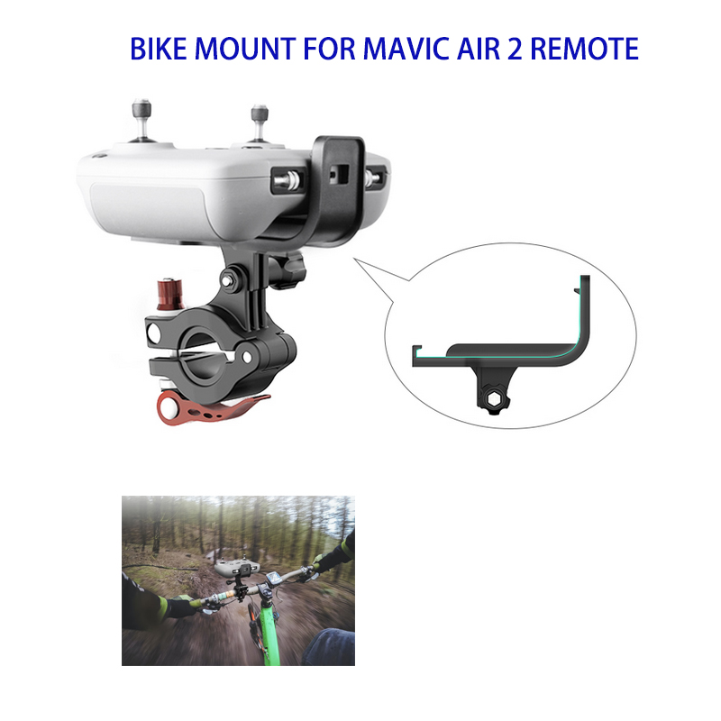 Remote Controller Bracket Bicycle Clamp Remote Controller Bike Holder Mount For DJI Mavic Air 2 Drone Accessories