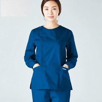 New Women Medical Uniforms Doctor Long- Sleeved Scrub Sets Nurse Uniform Beauty Salon Operating Working Clothes