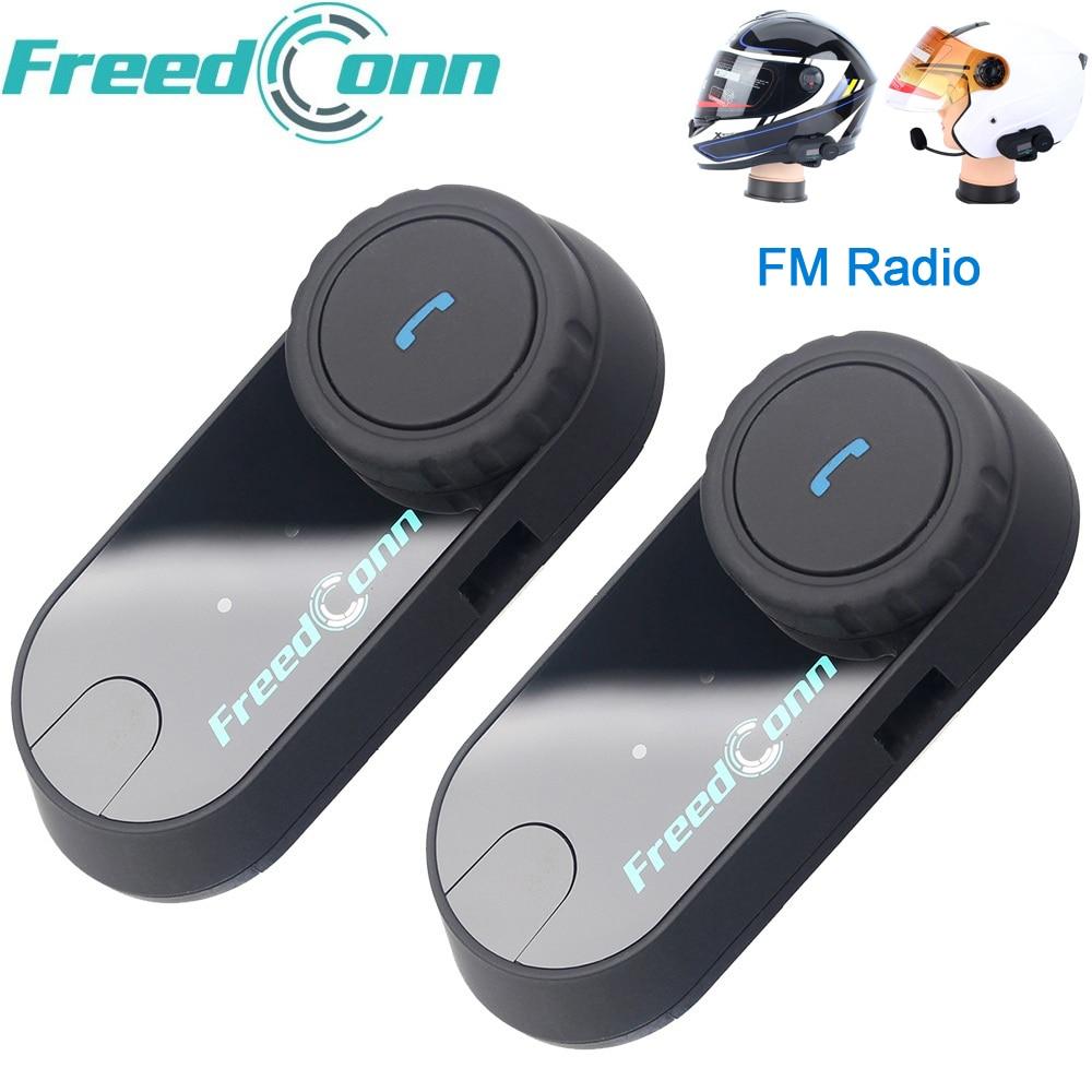 Original FreedConn TCOM-OS Motorrad Intercom Bluetooth Helm Headset T-COM OS 2 Fahrer FM BT Sprech Intercomunicador