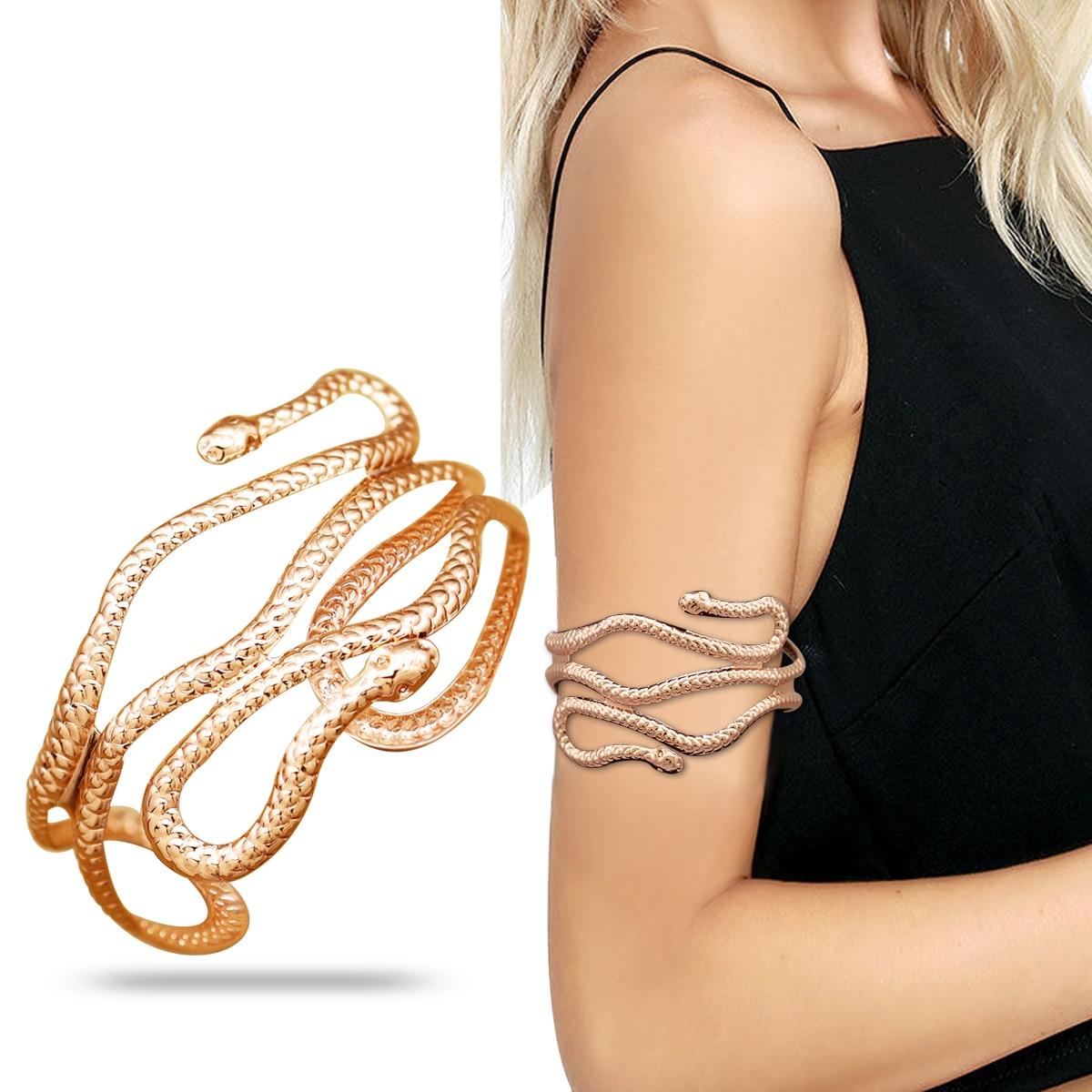 H709c0b83eadc473198d715f4eb0cf224f Prata banhado a ouro grego folha de louro pulseira braçadeira braço superior manguito armlet festival nupcial dança do ventre jóias