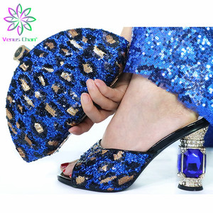 Blue High Quality Woman Luxury