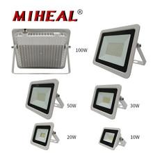 Iluminação industrial de led, 10w 20w 30w 50w 100w led 220v 230v 240v trabalho luz para armazém de garagem à prova d'água ip68