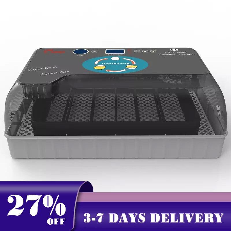 Hhd incubadora automática quente 4-35 ovo de pintainho grande capacidade incuator digital controle de temperatura chocadeira qualidade máquina incubadora