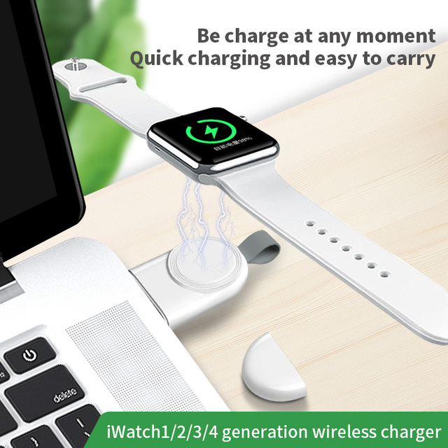 Portable Wireless Charger for IWatch 5 4  Charging Dock Station USB Charger Cable for Apple Watch Series 5 4 3 2 1 4