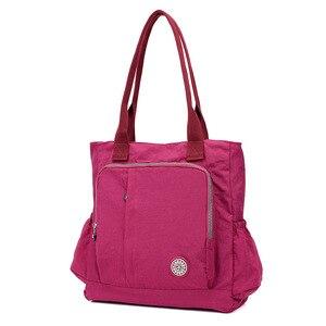 Image 5 - 新到着の女性のハンドバッグショルダーバッグ女性のメッセンジャーバッグ学生学校waterpfoof旅行バッグ