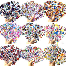 12 Sheets/lot 3D Puffy Bubble Stickers Cartoon Frozen Mickey Stickers DIY For Children Boys Girls Toys PVC Removable Waterproof(China)