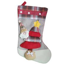 Christmas stockings Santa socks gifts candy bags Noel decorative home tree decorations
