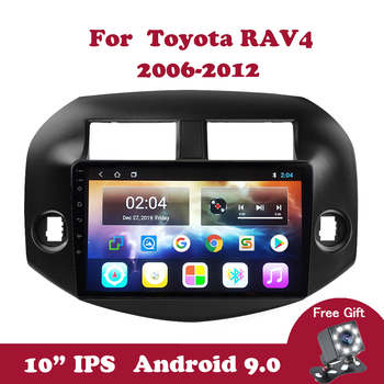 Android 9.0 Car Radio for Toyota RAV4 2007-2010 2011 DVD Video Player 2.5D+IPS 10.1 inch  Auto Multimedia Player Wifi GPS Navi liislee for toyota 4runner hilux tundra tacoma t100 car radio cd dvd player gps nav navi navigation android s160 system