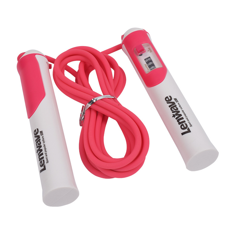 Lenwave Training Weight Count Jump Rope Students Training Competition Jump Rope The Academic Test For The Junior High School Stu
