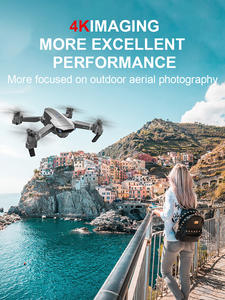 LAUMOX Gps-Drone Rc Quadcopter Adjustment-Camera E520S Foldable Professional with 4K