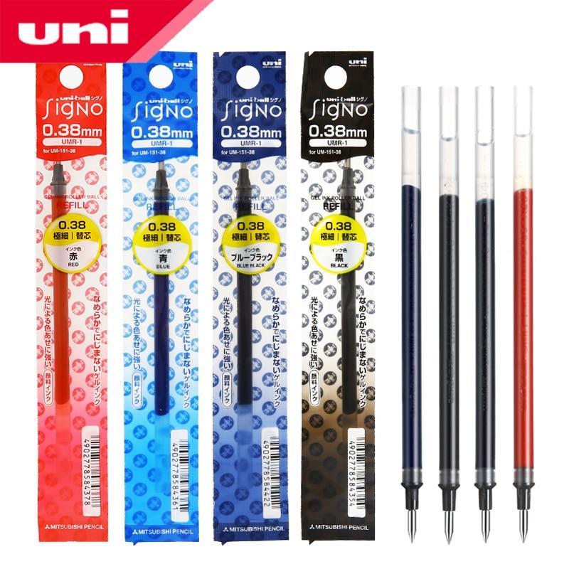 12pcs x Uni-ball Signo Refills UMR-1A  for UM151 0.38mm gel pen Blue