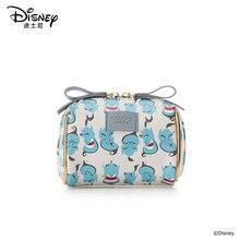 Disney yeni seyahat kozmetik çantası debriyaj Aladdin kadın makyaj çantası kızlar kılıfı makyaj seyahat yıkama saklama çantası lüks çanta