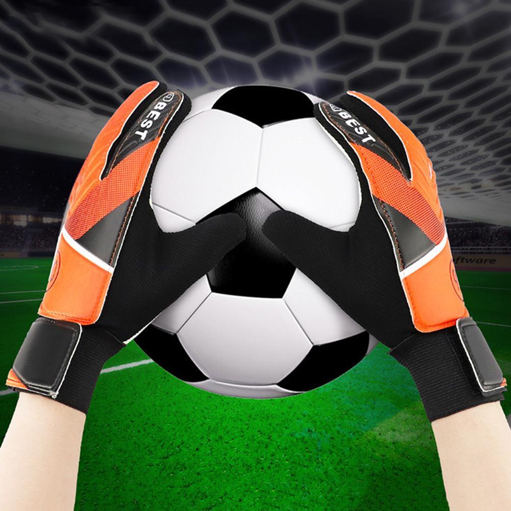 Full Finger Hand Protection Children Football Soccer Goalkeeper Goalie Gloves Children Football Soccer Goalkeeper Goalie Gloves