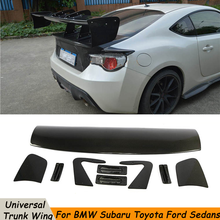 Carbon Fiber / FRP Universal GT Wing Spoiler For Toyota Gt 86 Gt86 Subaru Brz Rear Spoiler Track Car Styling Accessories