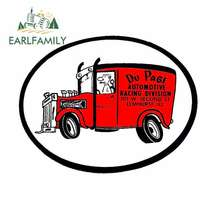 EARLFAMILY 13cm x Du Page Automotive Racing Funny Car Stickers Bumper Trunk Truck Graphics RV VAN 3D DIY Fine Decal