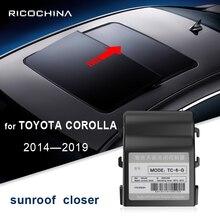 for TOYOTA COROLLA 2014-2019 Automatic closing device of sunroof automobile 2015 2016 2017 2018 Auto close