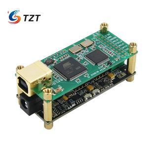 Image 2 - Amanero 인터페이스 + ES9038Q2M 오디오 디코더 보드 용 TZT 오디오 HiFi USB 사운드 카드 지원 DSD256 PCM 384Khz