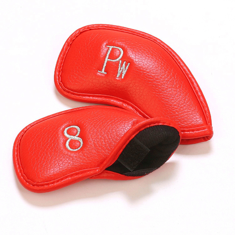 12Pcs/Set Synthetic Leather Headcover
