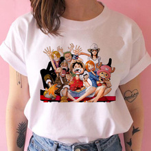 Tshirt Women One-Piece Tees Harajuku Kawaii Ulzzang Print Top Couple
