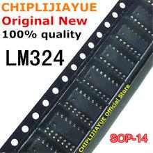 50PCS LM324 LM324D SOP14 324 LM324DR SOP-14 SOP SMD 신규 및 기존 IC 칩셋