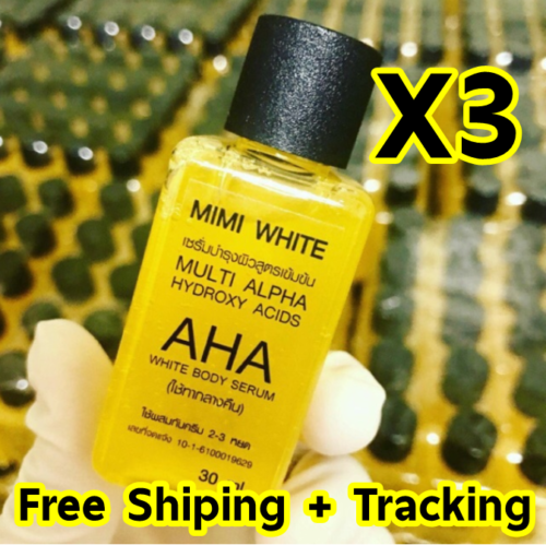 Extra Speed Whitening Body Serum Bleaching Lightening Brightening Skin Dark Spot AHA,Vitamin C,B 30 Ml