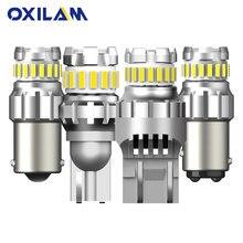 2 шт. BA15S светодиодный T15 W16W P21W 1156 3157 7443 WY21W Светодиодная лампа 1157 bay15d P21 5 Вт лампы для авто стояночные ДХО тормозные задние фонари