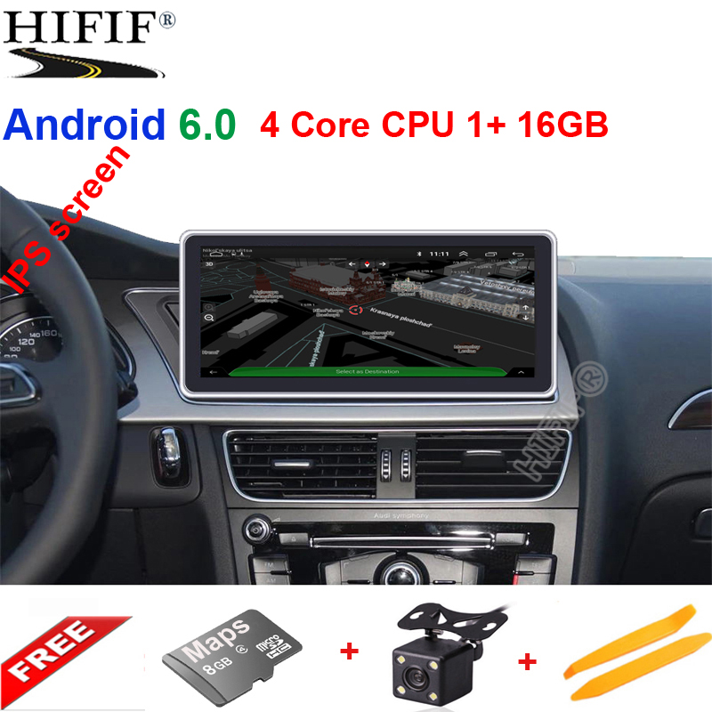 10 25 Inch Digital TouchScreen Car DVD Player GPS For Audi A4 A5 Q5 2009 2015