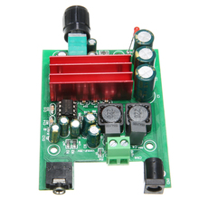 Digital Audio Power Amplifier Board TPA3116D2 AMP Board Dual-channel Stereo Audio Subwoofer Amplifier Module 100W+ 50W 1 pcs 100 w mono digital power amplifier board tpa3116d2 digital audio amplifier board 12 26 v