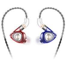 SIMGOT EM1 Hi-Res in-ear Monitor Hoofdtelefoon, IEM Koptelefoon met Afneembare Kabel, Dynamische Driver, geluidsisolerende Muzikant Heads
