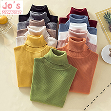 Winter-Knitted-Solid-Women-Sweaters-And-Turtleneck-Long-Sleeve-Pullovers-Casual-Sueter-Mujer-Tops-Sweet-Korean
