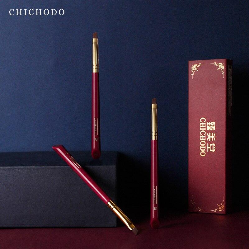 pincel de maquiagem chichodo luxuoso rosa vermelha serie alta 04