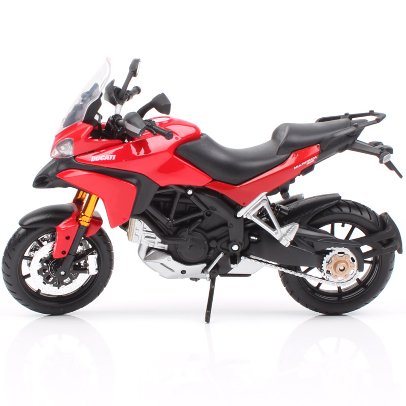 Masito 1/12 Scales DUCATI Multistrada 1200S MTS1200 Adventure Tour Rider Enduro Diecast Model Vehicle Motorcycle Moto Bikes Toys