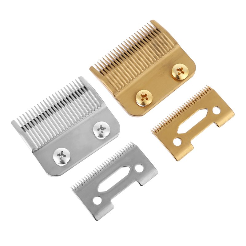 Professional 2-Hole Clipper Blade High Carton Steel Clipper Accessories With 2 The Screws For Electric Trimmer  Cutting Machine