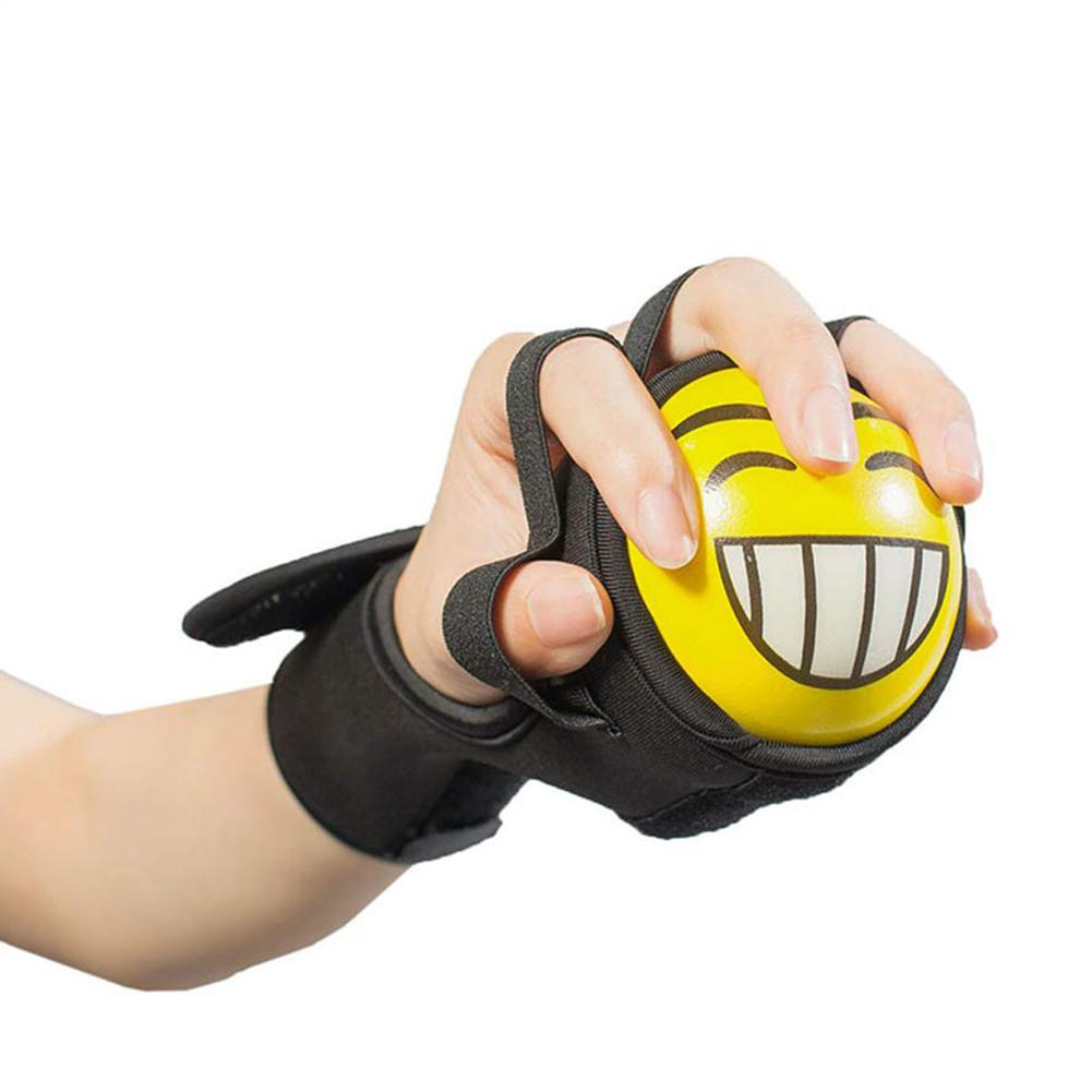 Finger Grip Power Training Ball Splint Finger Orthosis Rehabilitation Fitness Equipment Exercise Gripping Ball Braces Supports