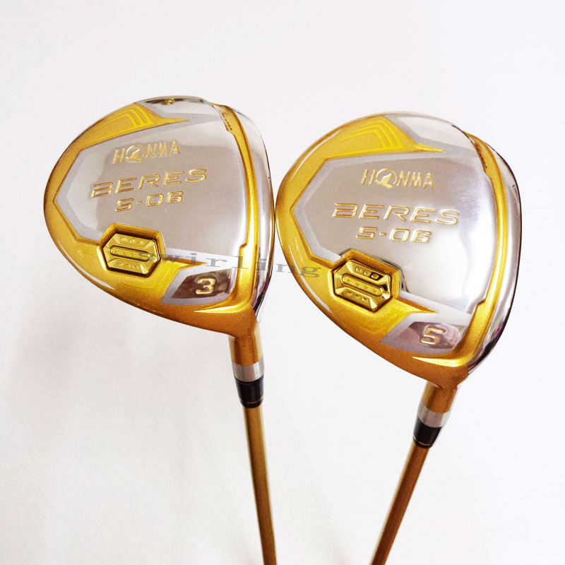 New Golf Club HONMA S-06 4 Stars BERES Fairway Wood   3/15 5/18 Golf Wood Clubs  Golf Graphite S R  Flex Free Shipping