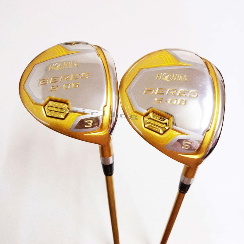 New Golf Club HONMA S-06 4 Stars BERES Fairway Wood   3/15 5/18 Golf Wood Clubs  Golf Graphite S R  Flex Free Shipping