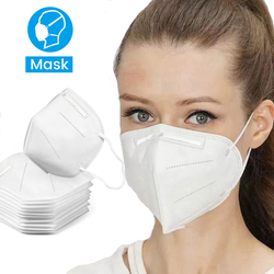 In Stock 20 Pcs KN95 Masks N95 Non-woven Dust Mask Anti Influenza 95% Filtration PM2.5 Ffp2 Breathing Bicycle Riding Mask 2